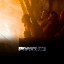Wallpaper del film Poseidon con una scena drammatica del film