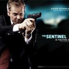 Wallpaper del film The Sentinel con Kiefer Sutherland