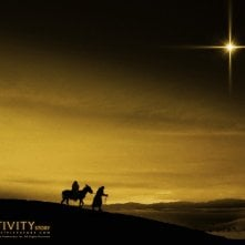 Un suggestivo wallpaper del film Nativity