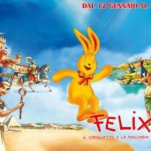 Wallpaper del film Felix il coniglietto e la Macchina del tempo