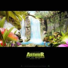 Wallpaper per il film Arthur e il popolo dei Minimei