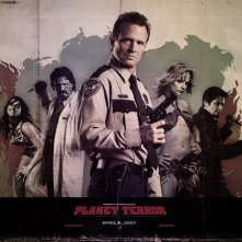 Wallpaper del film Grindhouse con Michael Biehn