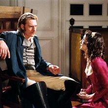 Guillaume Depardieu con Jeanne Balibar in una scena del film La duchessa di Langeais
