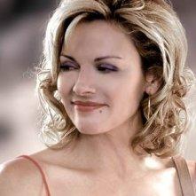 Kim Cattrall in una scena di Sex and the City, episodio Ex: la terza dimensione
