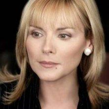 Kim Cattrall in una scena di Sex and the City, episodio Eterne ragazzine