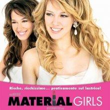 La locandina italiana di Material Girls