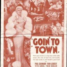 La locandina di Goin' to Town