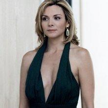 Kim Cattrall na scena di Sex and the City, episodio Strane manie da single