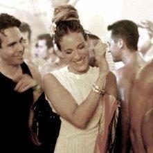 Sarah Jessica Parker in una scena di Sex and the City, episodio La chiave della felicità