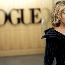 L'attrice Sarah Jessica Parker in una scena di Sex and the City, episodio Vogue, sesso e premaman
