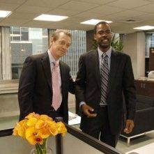 Chris Rock e Steve Buscemi in una scena del film Manuale d'infedeltà per uomini sposati
