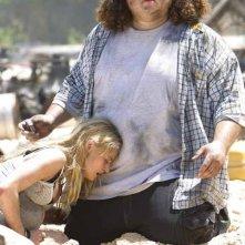 Jorge Garcia e Emilie De Ravin nel Pilot di Lost