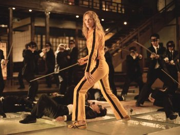 Wallpaper di Uma Thurman in Kill Bill Vo. 1