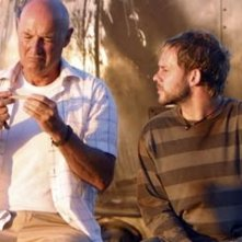Dominic Monaghan e Terry O'Quinn in Lost