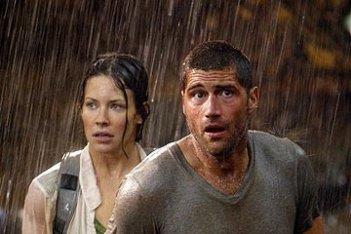 Evangeline Lilly e Matthew Fox nell'episodio 'Inseguimento' di Lost