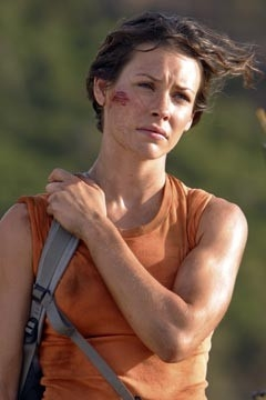 Evangeline Lilly nell'episodio 'La caccia' di Lost