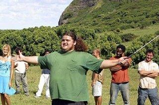 Jorge Garcia nell'episodio 'Solitudine' di Lost