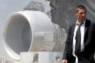Matthew Fox nel Pilot del telefilm Lost