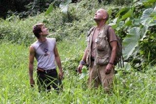 Terry O'Quinn e Ian Somerhalder nell'episodio 'Inseguimento' di Lost