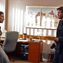 Evangeline Lilly con Victor Browne nell'episodio 'Il mistero della valigetta' di Lost