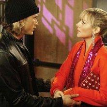 Jason Lewis e Kim Cattrall in una scena di Sex and the City, episodio Capolinea 38