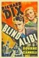 La locandina di Alibi cieco