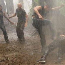 Terry O'Quinn, Naveen Andrews, Matthew Fox e William Mapother nell'episodio 'Ritorno' di Lost