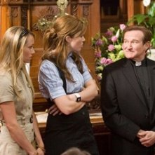 Christine Taylor, Mandy Moore e Robin Williams