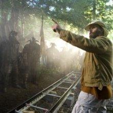 Marcus Nispel sul set del film Pathfinder