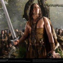 Wallpaper del film Pathfinder - La leggenda del Guerriero Vichingo con Karl Urban