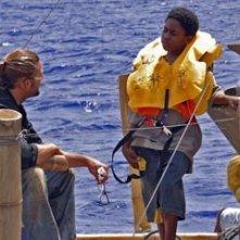 Josh Holloway e Malcolm David Kelley nell'episodio 'Esodo: parte 2' di Lost