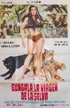La locandina di Gungala la vergine della giungla