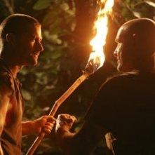 Terry O'Quinn con Matthew Fox nell'episodio 'Esodo: parte 2' di Lost