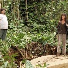 Terry O'Quinn, Jorge Garcia e Mira Furlan nell'episodio 'Esodo: parte 1' di Lost