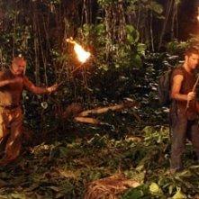 Terry O'Quinn, Matthew Fox e Jorge Garcia nell'episodio 'Esodo: parte 2' di Lost