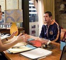Adam Sandler e Kevin James con Jessica Biel in una scena di Io vi dichiaro marito e...marito