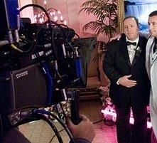 Adam Sandler e Kevin James in una scena di Io vi dichiaro marito e...marito