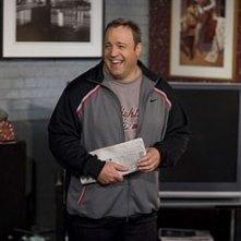 Kevin James in una scena di Io vi dichiaro marito e...marito