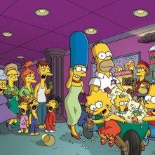 Un'immagine promozionale per I Simpson - il film