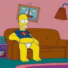 Un'immagine de I Simpson - il film