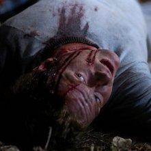 Una scena splatter del film Severance