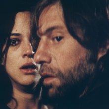 Birol Ünel con Asia Argento  in una scena del film Transylvania