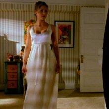 Sarah Michelle Gellar in una scena di Buffy - L'ammazzavampiri, ep. La profezia