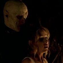 Sarah Michelle Gellar in una scena di Buffy - L'ammazzavampiri, episodio La profezia