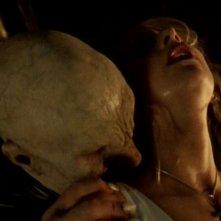 Sarah Michelle Gellar in una scena di Buffy - L'ammazzavampiri, nell'episodio La profezia