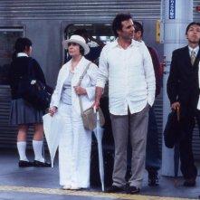 Una scena del film film La pluie des prunes