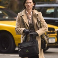 Tilda Swinton in una scena di Michael Clayton