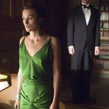 Keira Knightley con James McAvoy in una scena del film Espiazione