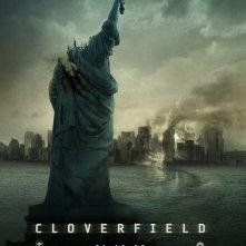 La locandina di Cloverfield