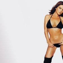 Wallpaper di Yasmine Bleeth in lingerie